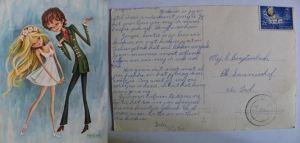 postcard Piet