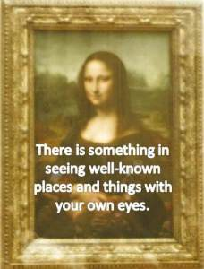 Mona Lisa Quote